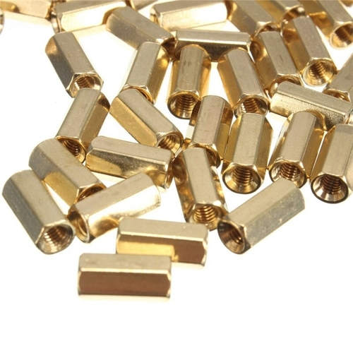 Brass Hexagonal Female Spacers