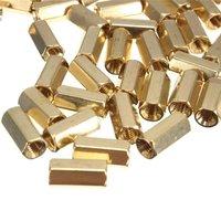 Brass Hexagonal Female Spacers