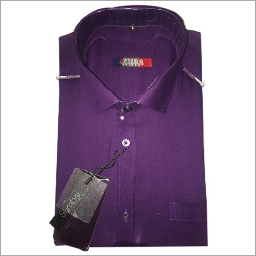 Mens Plain Cotton Shirt