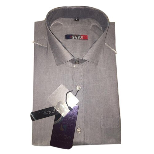 Mens Cotton Plain Shirt