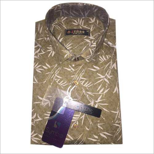 Mens Printed Designer Shirt