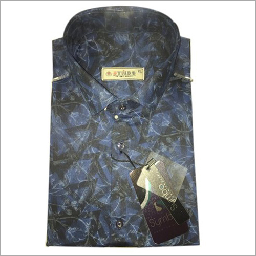Mens Printed Full Sleeve Shirt