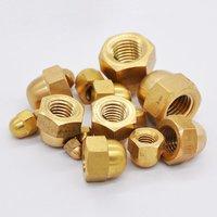 Brass Dome Head Nuts