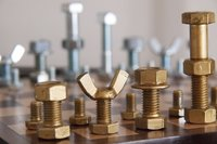 Brass Nut Bolt and Wing Nuts