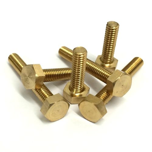 Hexagonal Brass Bolts