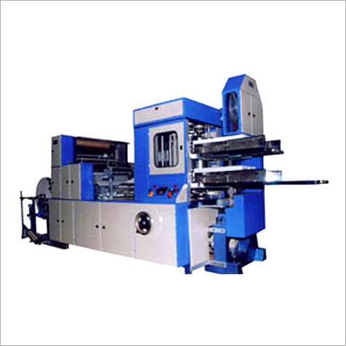 Double Deck Automatic Paper Napkin Machine