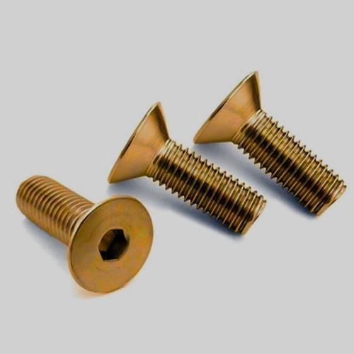Brass Countersunk Allen Flat Head Bolts
