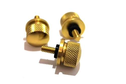 Brass Crosss Knurled Head Thumb Screws