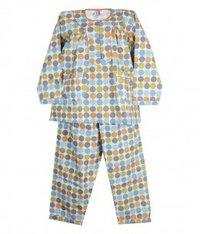 Dot Print Night Suit