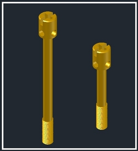 Brass Precision Sealing Screws