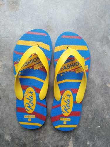 strip design slipper
