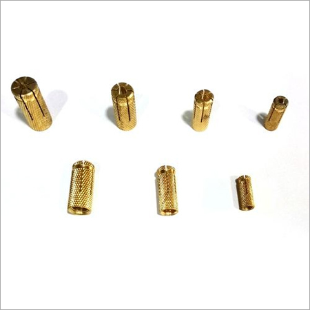 Brass Slotted Anchors