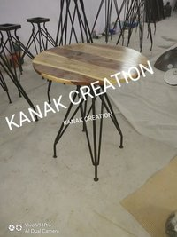wooden top classic Industrial Stool