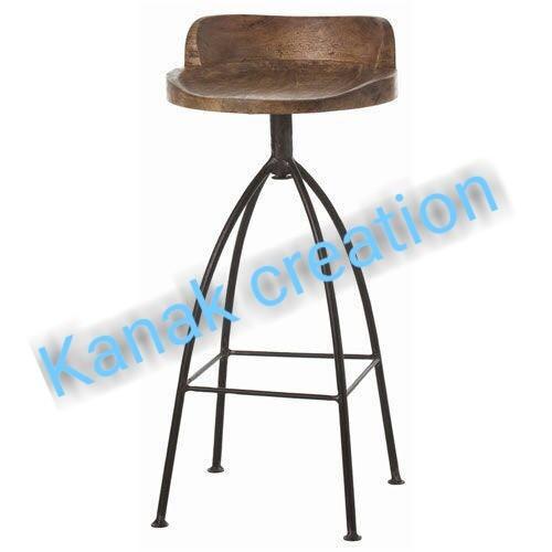 Long industrial Bar stool