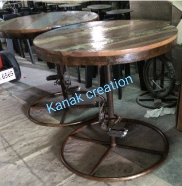 Industrial Pedal Bar stool