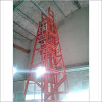 GRP Mobile Telescopic Platform Ladders
