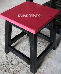 Square seat Industrial Stool