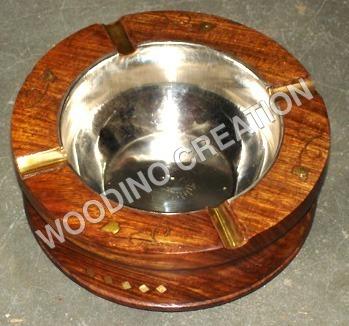 Designer Wooden Ash Tray