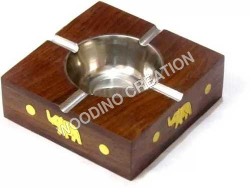 WOODEN ASH TRAYS