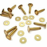 Solid Brass Rivets