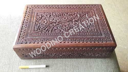 WOODEN CARVING BOXES