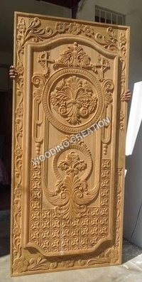 Designer Wooden Carving Panel