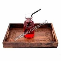 Designer Wooden Serving Tray