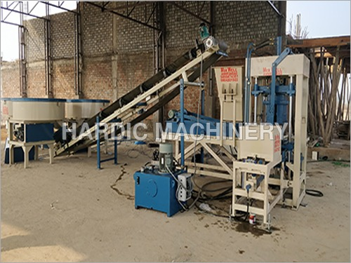 Industrial Heavy Duty Fly Ash Brick Making Machine