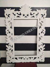 Designer Wooden Mirror Frame