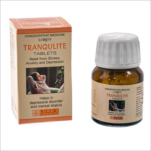 Homeopathic Stress Relief Tablets