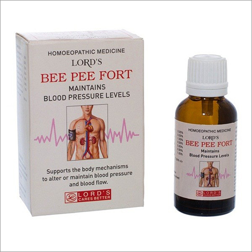 Homeopathic Blood Pressure Control Drops