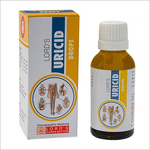30ml Lords Uricid Drops
