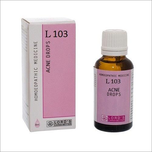 L 103 Acne Drops