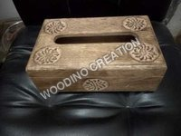 Wooden Tissue Box