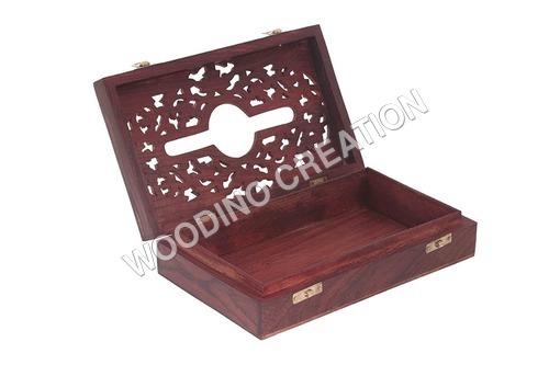 Designer Wooden Tissue Box