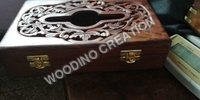 Designer Wooden Tissue Box