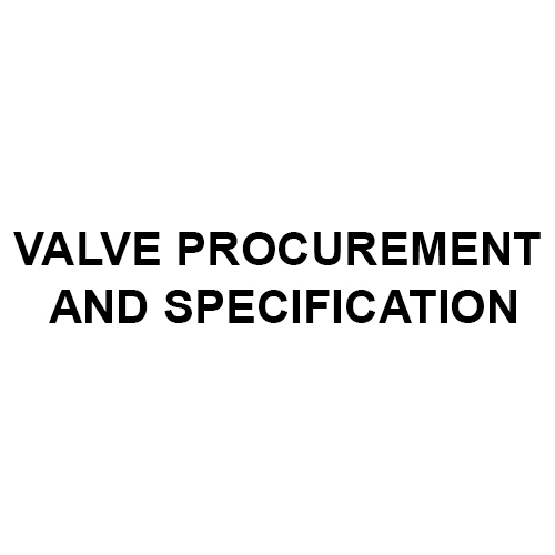 Valve Abrasive Procurement Specification