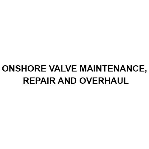 向着海岸的阀门维护修理和检修