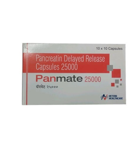 Pancreatin Delayed Release Capsule 25000