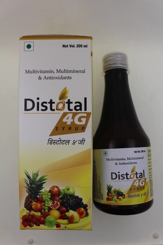 Multivitamin , Multimineral & Antioxidants Syrup