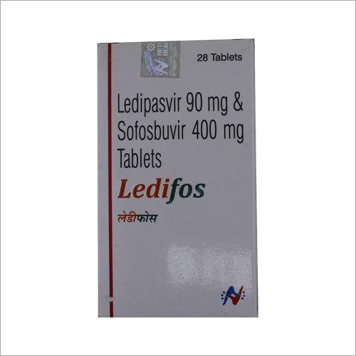 Ledipasvir 90mg,Sofosbuvir 400mg Tablet