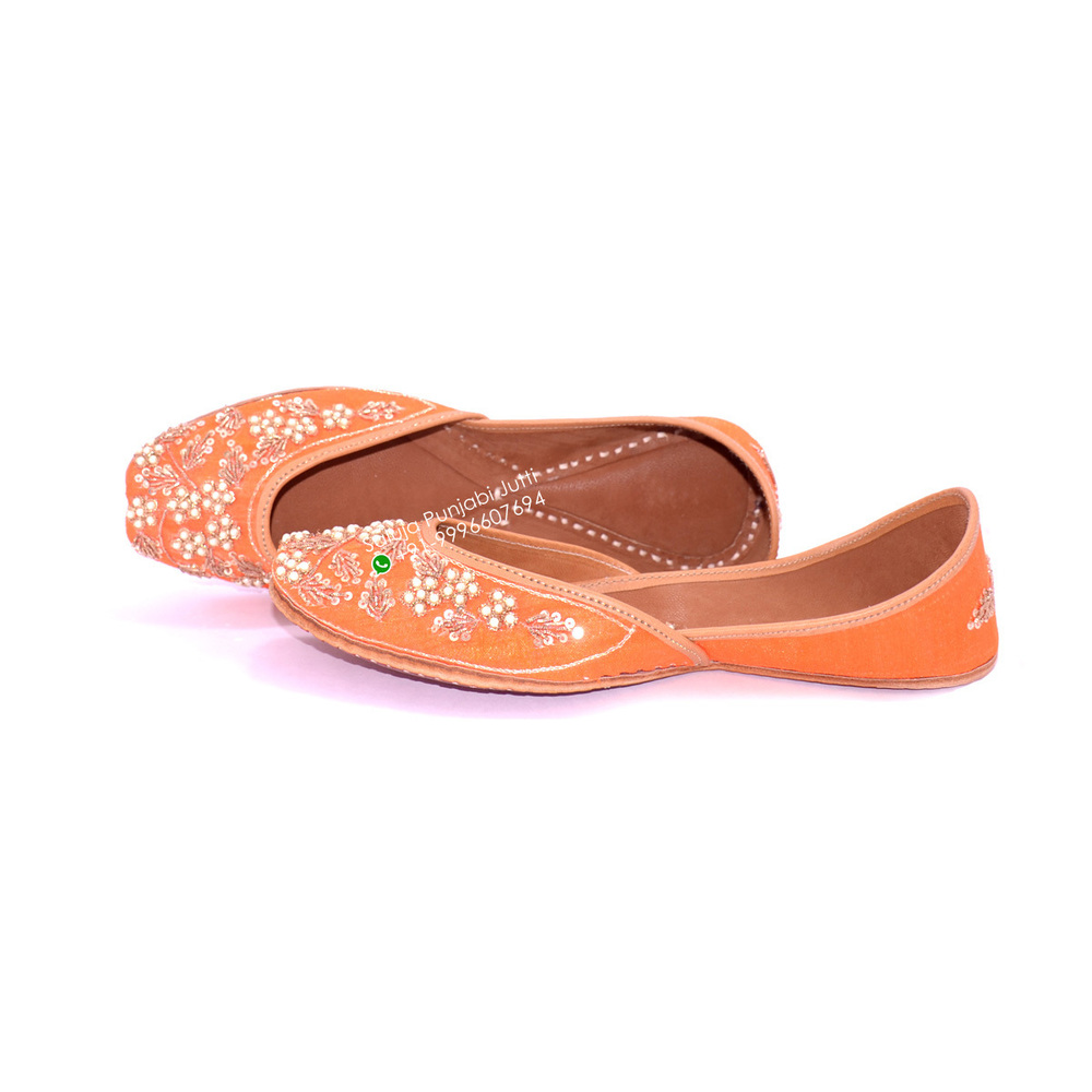 Leather Women Traditional Punjabi jutti