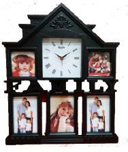House Full Photo Clock