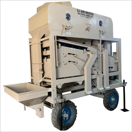 Mobile Seed Processing Plant Capacity 2 TPH Pneumatic