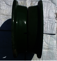 2 part nut bolt trailer RIm