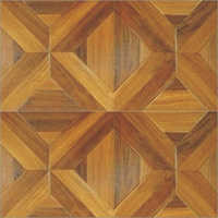 Parquet Vein Exotic Teak Laminate Flooring Sheet