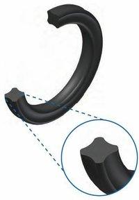 3)X RING / QUAD RING / 4 LIP RING