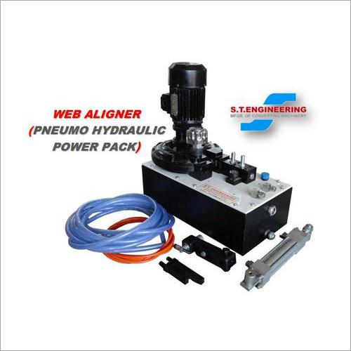 Pneumo-Hydraulic Web Aligner