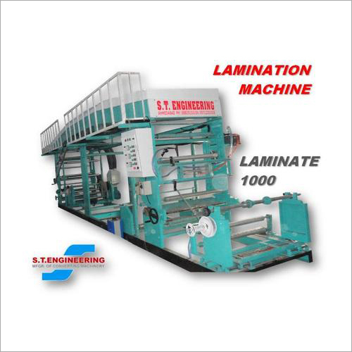 Solvent based Lamination Machine