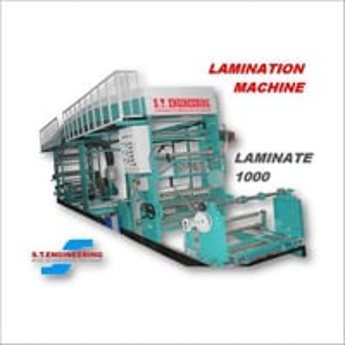 Solvent based Lamination Machine